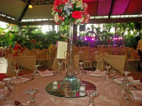 Asian wedding ceremony and reception site