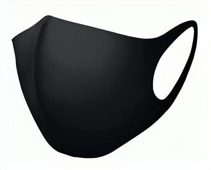 Black mask psd cutout