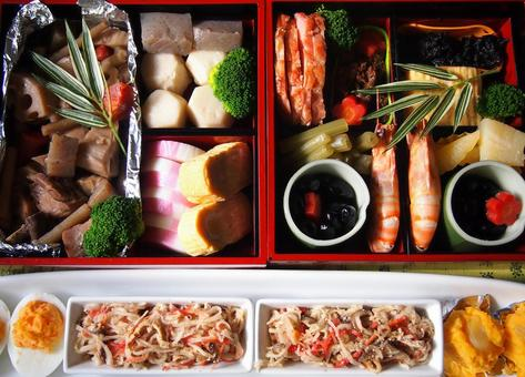 Osechi cooking 04