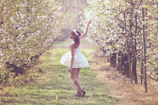 봄의 소녀 23
