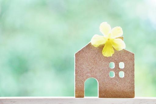 집과 녹색