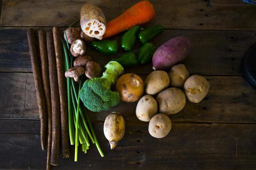 Vegetables filled