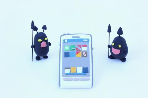 Bacillus and smartphone 1