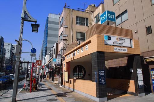도쿄 메트로이나 리초 역