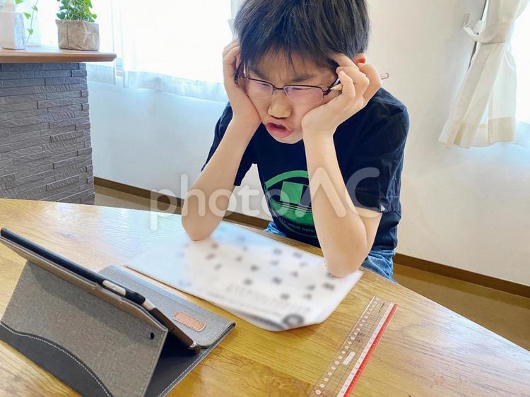 宿題もう嫌だの写真