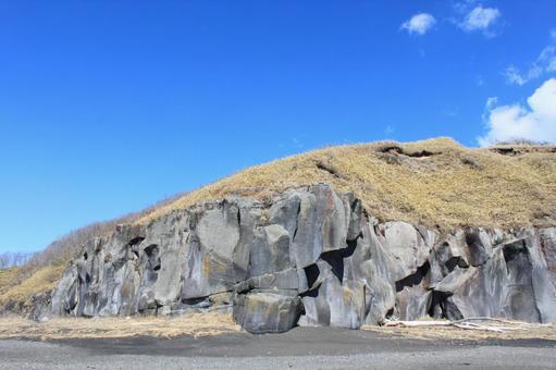 岩のある景色