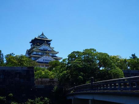 오사카 성 (맑음) ②