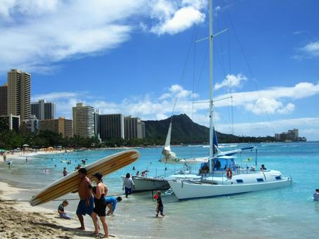 하와이의 풍경 5