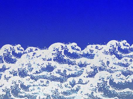 White Wave wallpaper background