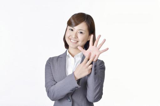 Female in suit suit 9