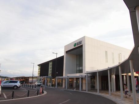 Yokote station building