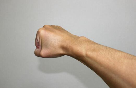남자의 손목
