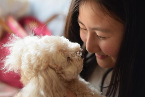 사랑 해요! 강아지
