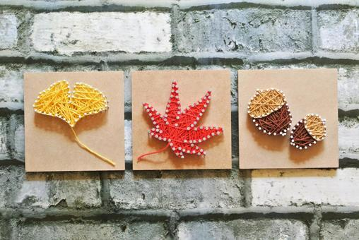 String art autumn