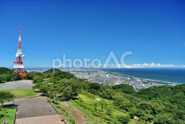 湘南平からの眺めの写真