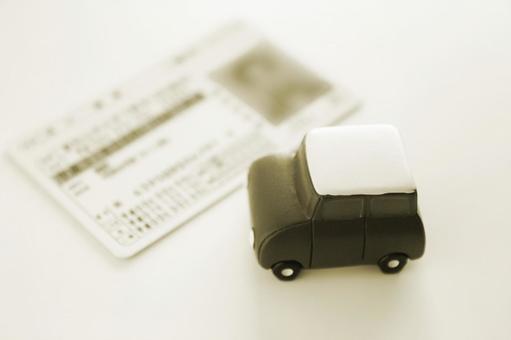 Driver's license sepia
