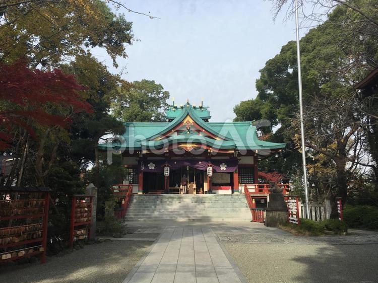 多摩川浅間神社の写真