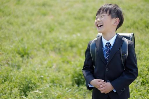 Elementary school boy 45