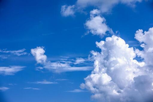 Blue sky and clouds 28