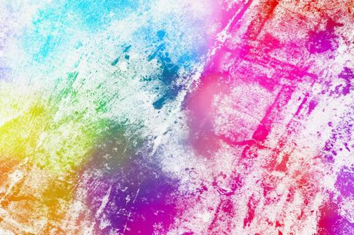 Watercolor picture Wallpaper Easy-to-use universal background Colorful No. 25