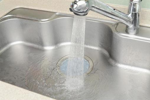 Sink tap water