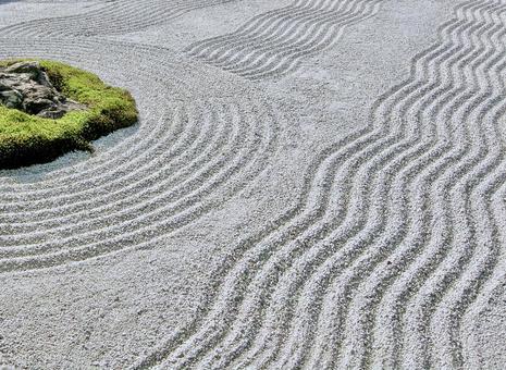 石頭花園裡的Karesansui