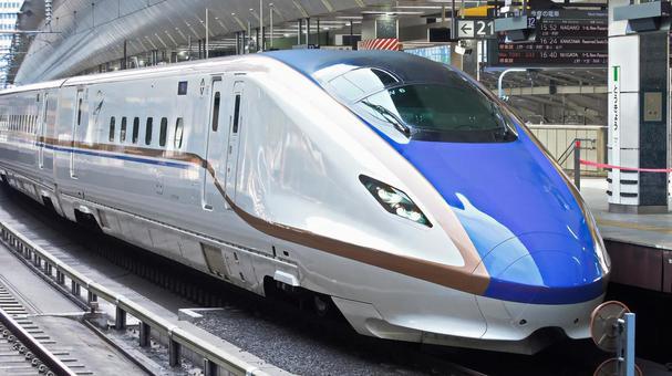 Hokuriku Shinkansen E 7 series Tokyo station