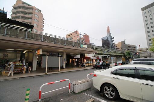 Ryogoku station building