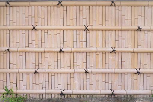 Fence bamboo fence