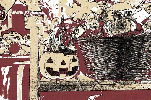 Halloween pumpkin 10 cartoon style