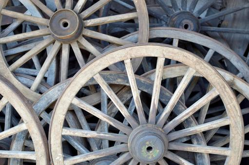 Wooden wheels wood wheels