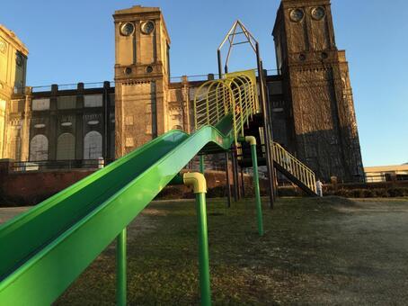 Roller slide (long slide)