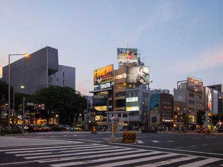 Omotesando crossing point 1