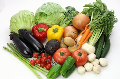 Variety of vegetables 2