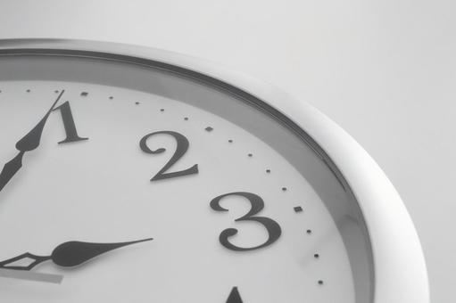 Clock monochrome