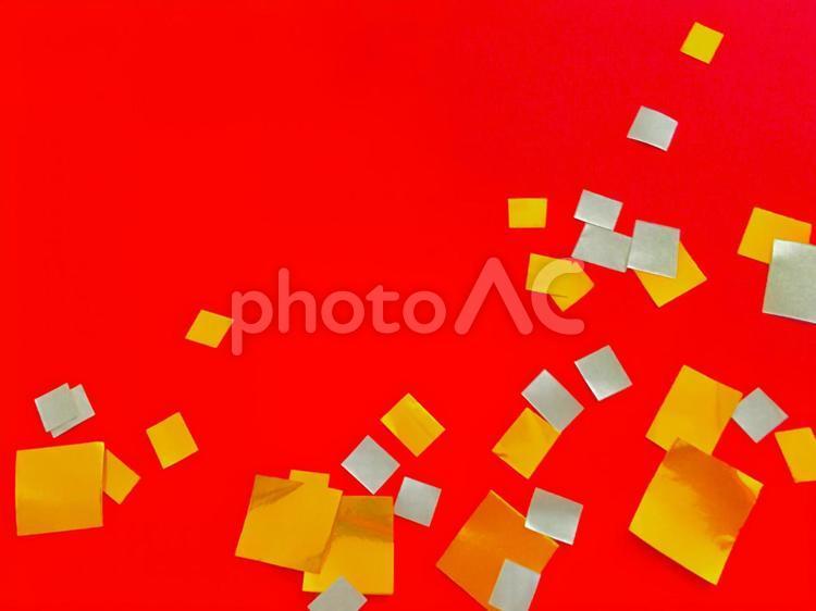 紙吹雪  ヨコの写真