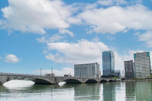 Bandai Bridge Niigata City