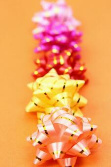色带纹理带条带橙色背景3