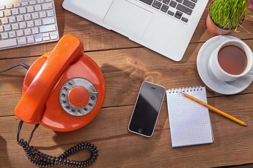 Retro phone and smartphone 2