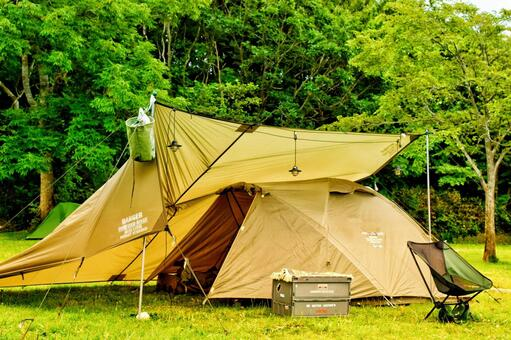 Solo camp base