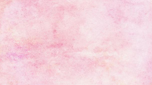 Watercolor-style pink texture Blurred background Japanese paper style