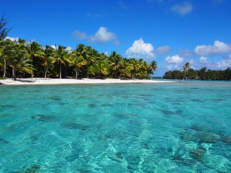 Tropical landscape of Bora Bora
