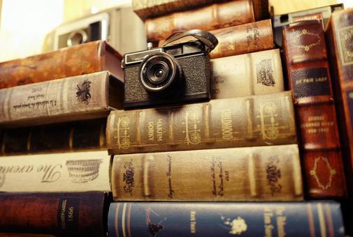 Camera antique book accessory miscellaneous goods