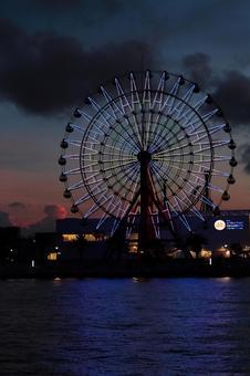 Ferris Wheel 4 at night