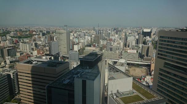 도시의 거리 풍경