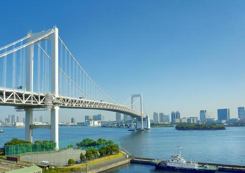 Tokyo Rainbow Bridge and Odaiba