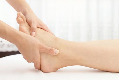 Esthetic image body massage
