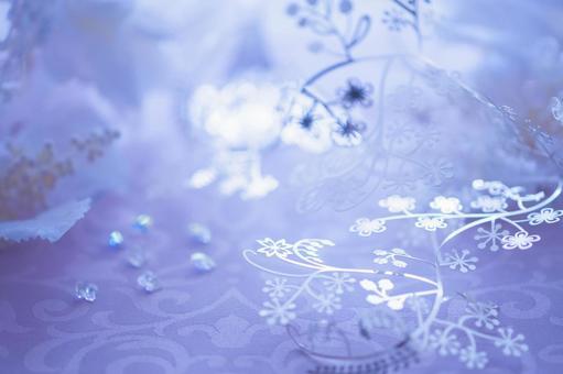 꽃 은세공과 구슬 3