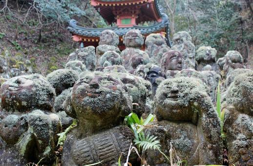 Atago Nenbutsu-ji Temple Rakan