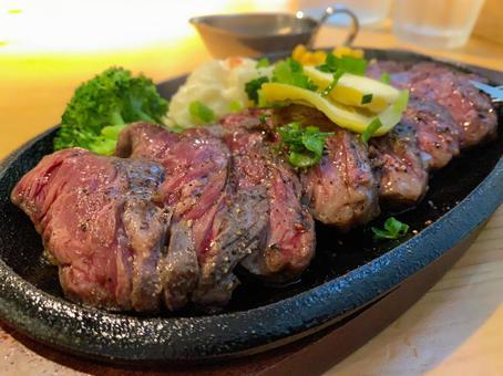 Beef Harami Steak Teppanyaki